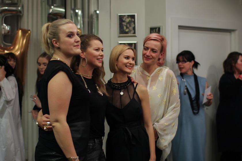 L to R: Olivia Wild, Nina Gordon, Jacque Shaw, Bex Brent